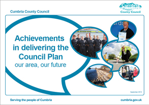 Achievements in delivering the Council Plan (PDF 7MB)