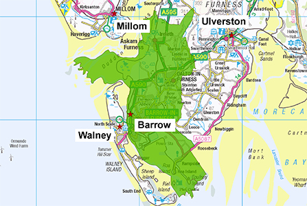 Barrow Station Area 300 X 447