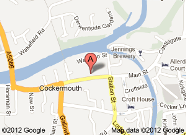 Find Cockermouth Library on the map