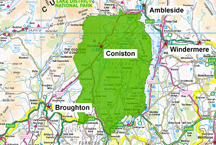 Coniston Station Area 300 X 447