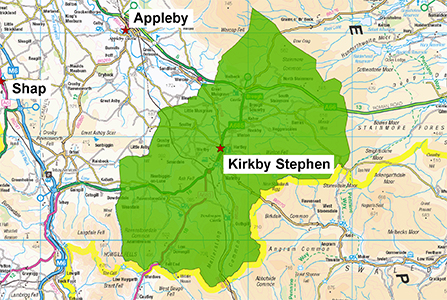 Kirkby Stephen Station Area 300 X 447