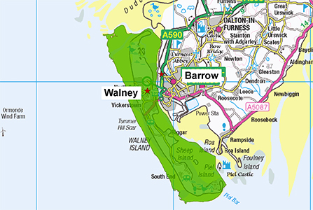 Walney Station Area 300 X 447
