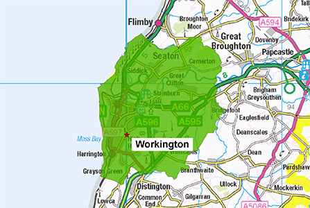Workington Station Area 300 X 447